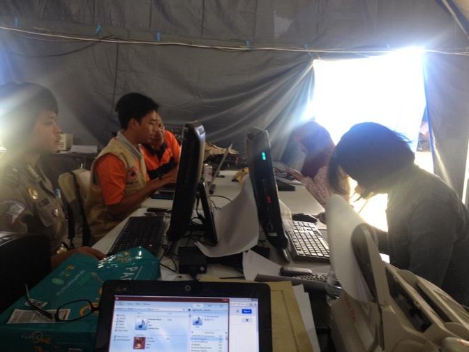 Media Center Saat Tanggap Darurat Bencana