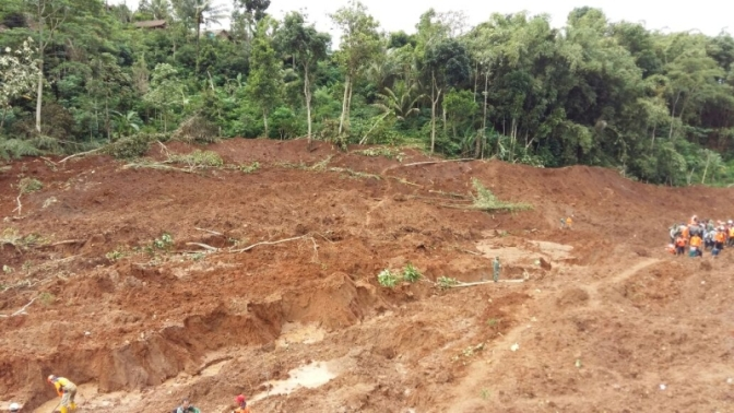 Landslide, Deadly Disaster in Indonesia