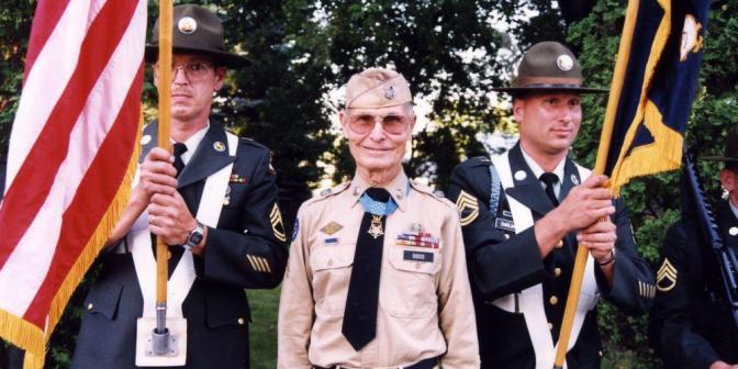 Inspiring Soldier, Desmond Doss